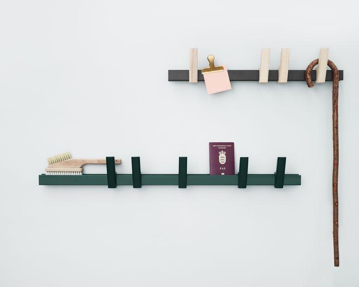 A coat rack and a shelf, Beam designed by Big Game