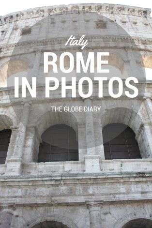 Italy in Photos: Rome with Trafalgar Tours. The tourist attractions in Rome: The Colosseum.