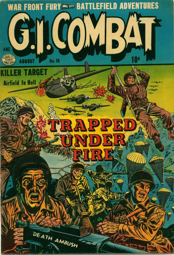 G I Combat Comics | ... fan of war comics i almost didn t download this comic book g i combat