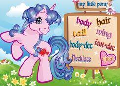 JuegosMyLittlePony.es - Juego: My Little Pony Creator - Jugar Online Gratis