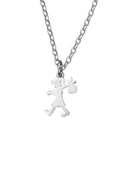 Runaway Girl Pendant Silver - Karen Walker Jewellery | Karen Walker