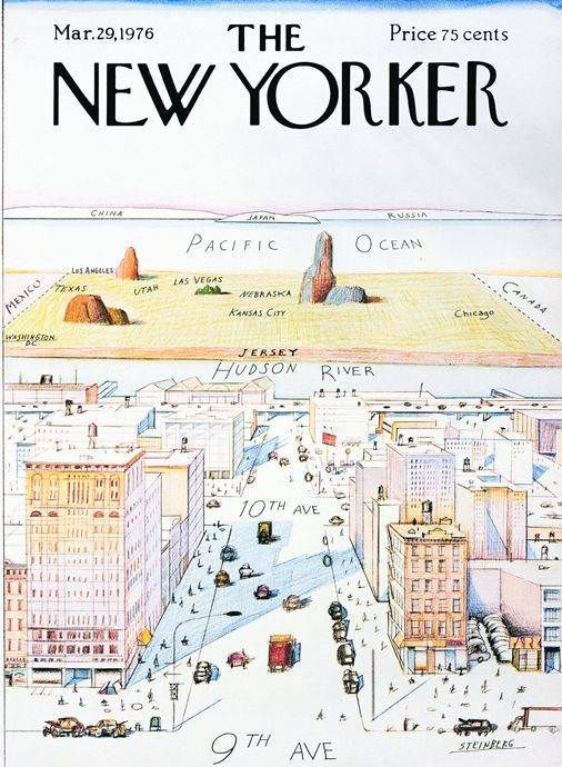 great cover of New Yorker