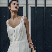 Laure de Sagazan dévoile sa nouvelle collection de robes de mariée 2016 | Vogue