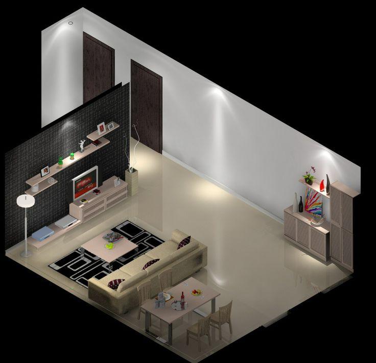 3d Floor Plan Isometric: 22 Best Isometric Images & Floor Plan Images On Pinterest