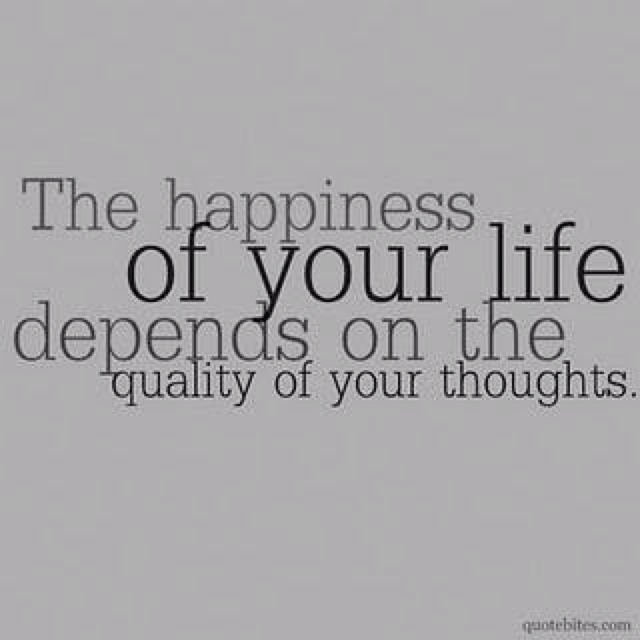 true happiness comes from within!