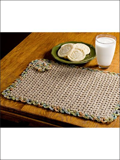 Basket Weave Table Runner Pattern : Images about crocheted table runners and place mats