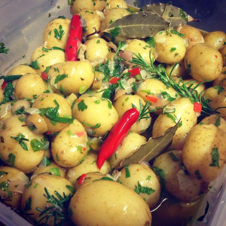 Receitas da Jú: Batatas Croatas!