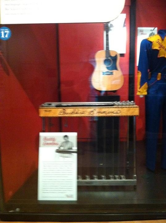 Country Music Hall Of Fame Harold Bradley S Guitar And Buddy Emmon Steel Dobro Both