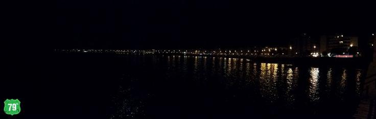 #Trani #Puglia #Italia #Italy #Lungomare #ILoveItaly #ILovePuglia #Moon #Luna #Moonlight #Mare #Sea #79thAvenue