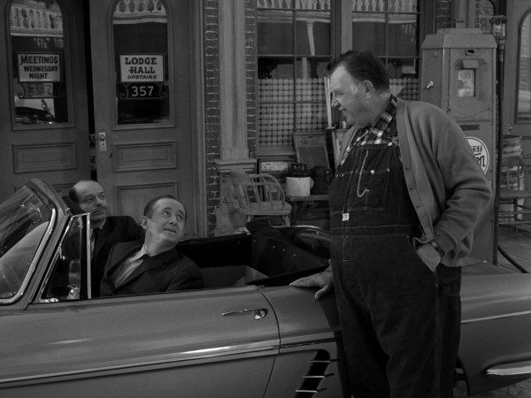 The Twilight Zone Episode 95; Hocus-Pocus and Frisby. General Information Director: Lamont Johnson Writer: Rod Serling Cast: Andy Devine, Milton Selzer, Howard McNear, Dabbs Greer, and Clem Bevans Composer: Tommy Morgan Air Date: 4/13/1962 Production Code: 4833  Overview Known for spinning yarns about his past adventures, country store owner Somerset Frisby (Andy Devine) is abducted by aliens. Given a slight deficiency in […] Like this:Like Loading...