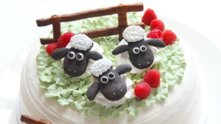 ひつじのショーンコラボカフェが吉祥寺パルコにオープン--ショーンの可愛いケーキも