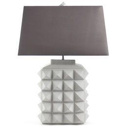 Love, love, love this Jonathon Adler Charade Studded Table Lamp...