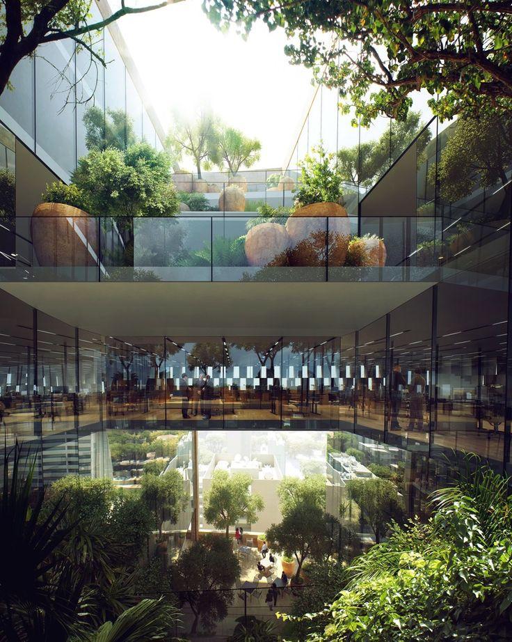 Galería de Snøhetta gana concurso para diseñar la sede del Banco de Beirut - 3