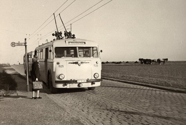 Rund um das Dorf Marzahn 1956  _____________________________ Bildgestalter http://www.bildgestalter.net