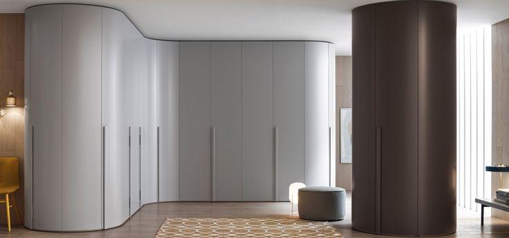 Modern Furniture Curved door