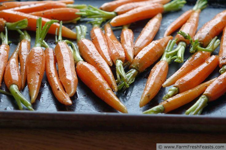 Rustic Roasted Carrots | Farm Fresh Feasts