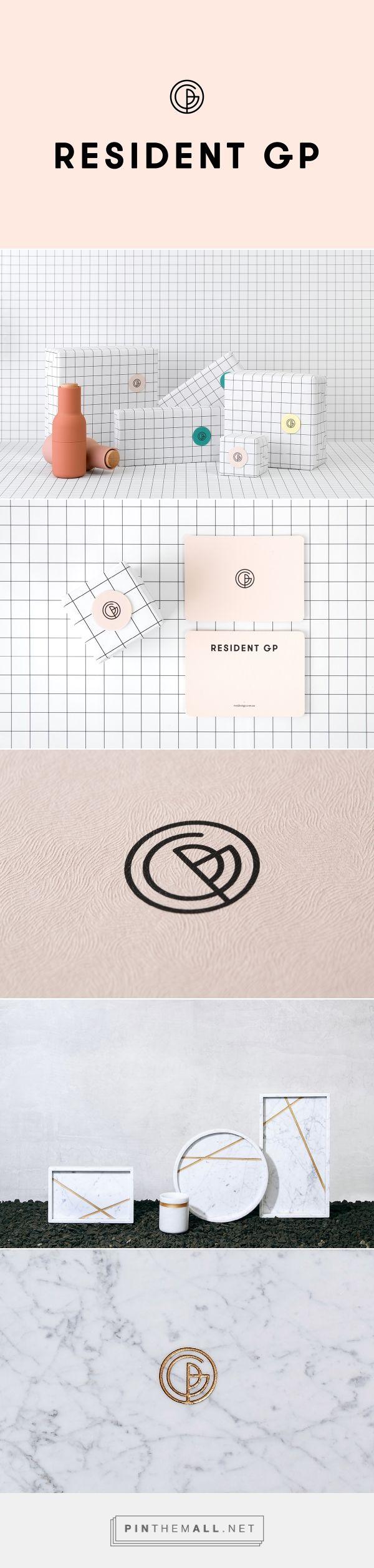 Resident GP homeware packaging design by A Friend Of Mine Design Studio (Australia) - http://www.packagingoftheworld.com/2016/08/resident-gp.html