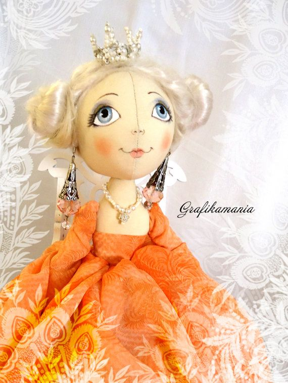 Pattern textile dolls