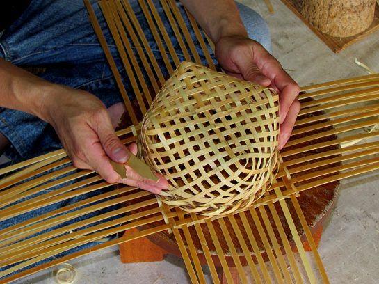 basket weaving ... not 101