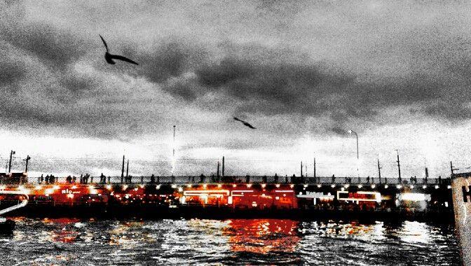 #cloud #istanbul #bridge
