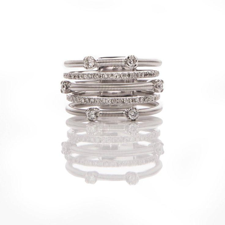 18k Diamond Ring Pave Diamond Ring Designer Ring 18k