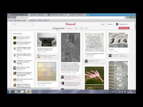 Video Tutorial de Pinterest en español - Meritxell Viñas - YouTube