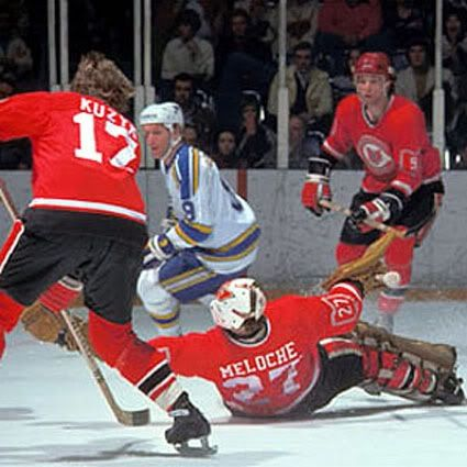 Gilles Meloche | Cleveland Barons