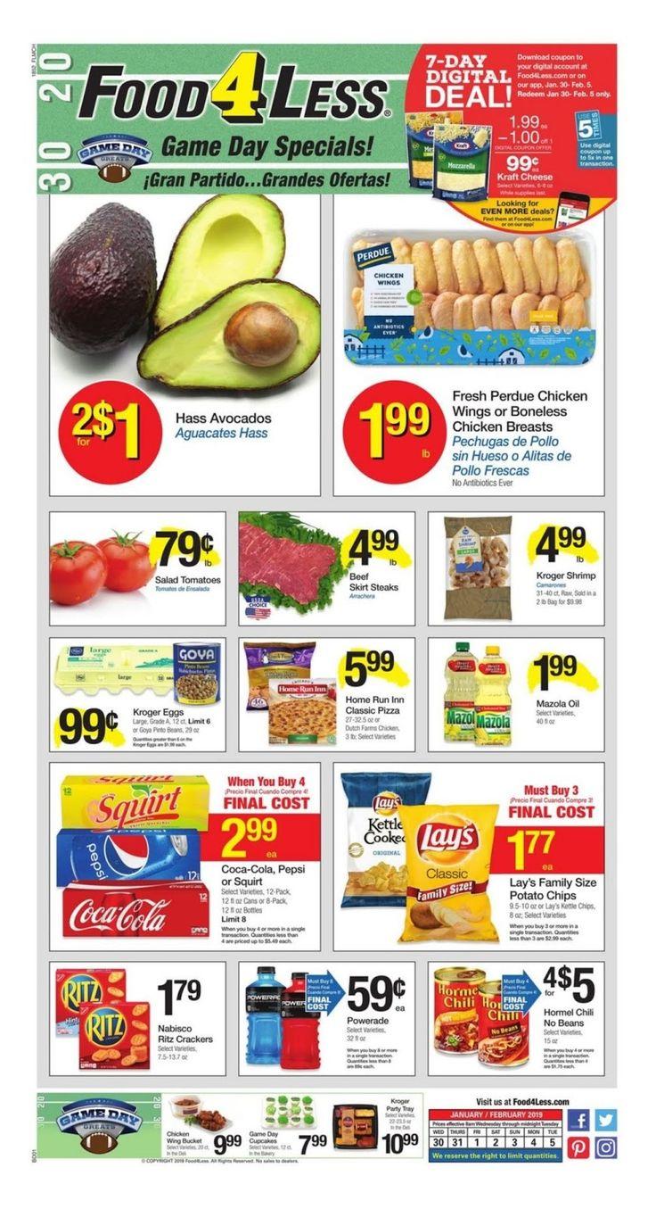 Food 4 less weekly ad january 30 february 5 2019 food