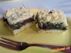 Výborný makový koláč se švestkami