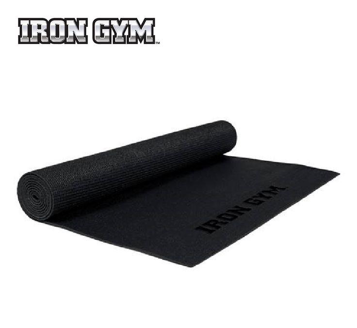 Iron Gym Exercise/ Yoga Mat is zeer geschikt voor Yoga, diverse rekt zich uit en grondoefeningen. Het isoleert lichaam van koude vloer.