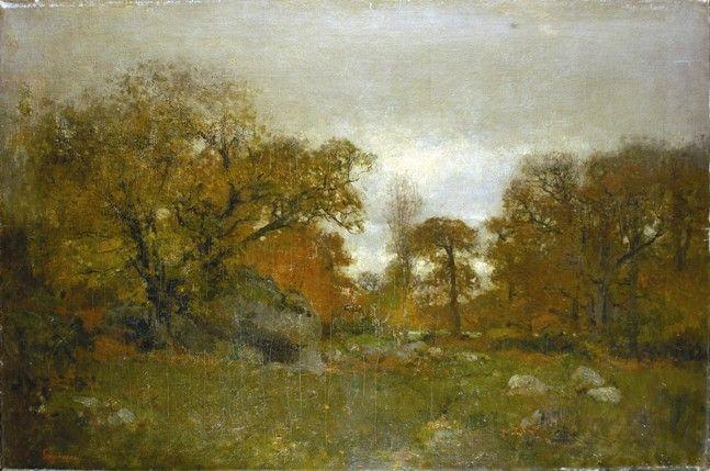 Toamna La Fontainebleau - Nicolae Grigorescu