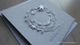 Nochmals Weihnachtspost     ✶   ✶ ✶ ✶ ✶ ✶   ✶     Sternenkranz     in silber                        Habt einen schönen Freitag und starte...