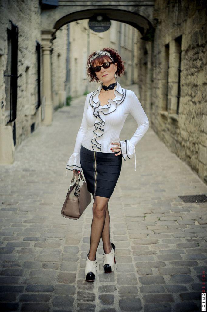 Photos Stéphane Perruchon - Bas couture zigzag Cervin Paris