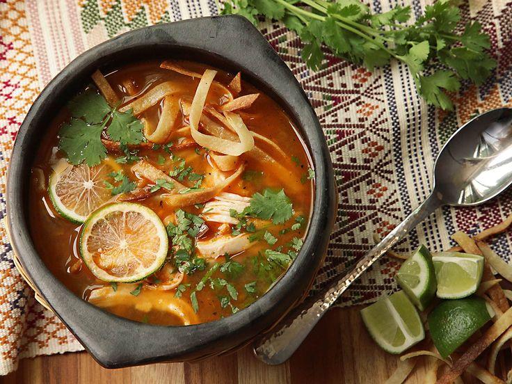 Sopa de Lima (Yucatán-Style Lime Soup)