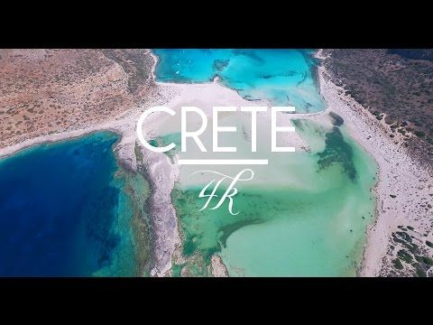 CRETE, Greece | Beautiful Beaches Aerial Drone 4K by thedronebook - YouTube