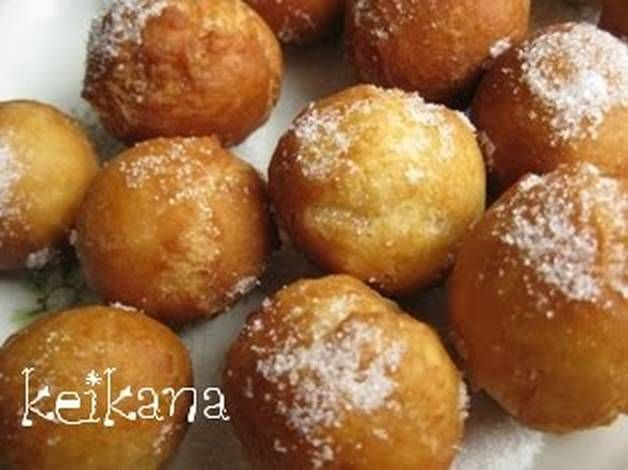 Donut Holes Made with Pancake Mix & Milk