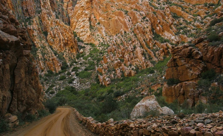 Swartberg Pass. South Africa