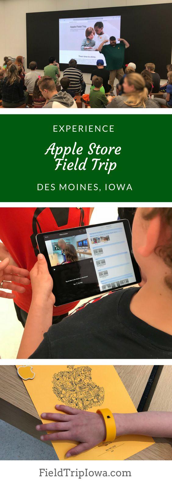 Apple Store Field Trip – Des Moines