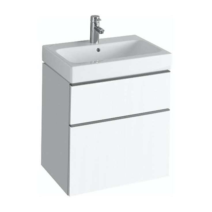 Keramag ICon Waschtischunterschrank Front Und Korpus Alpin
