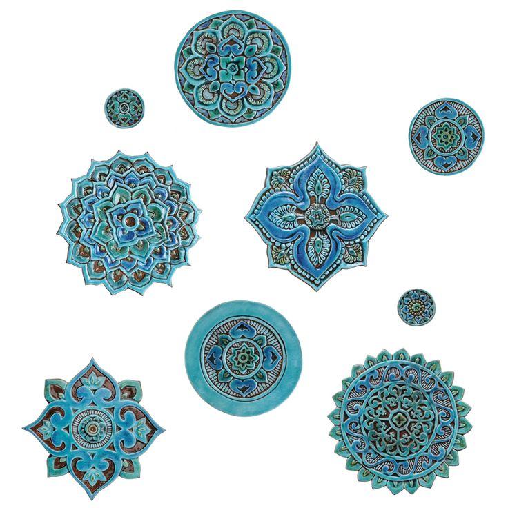 Mandala wall art 21cm - gvega