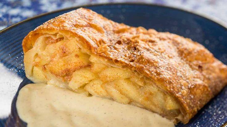 Apple Strudel recipe from Biergarten, Germany in Epcot - TalkDisney