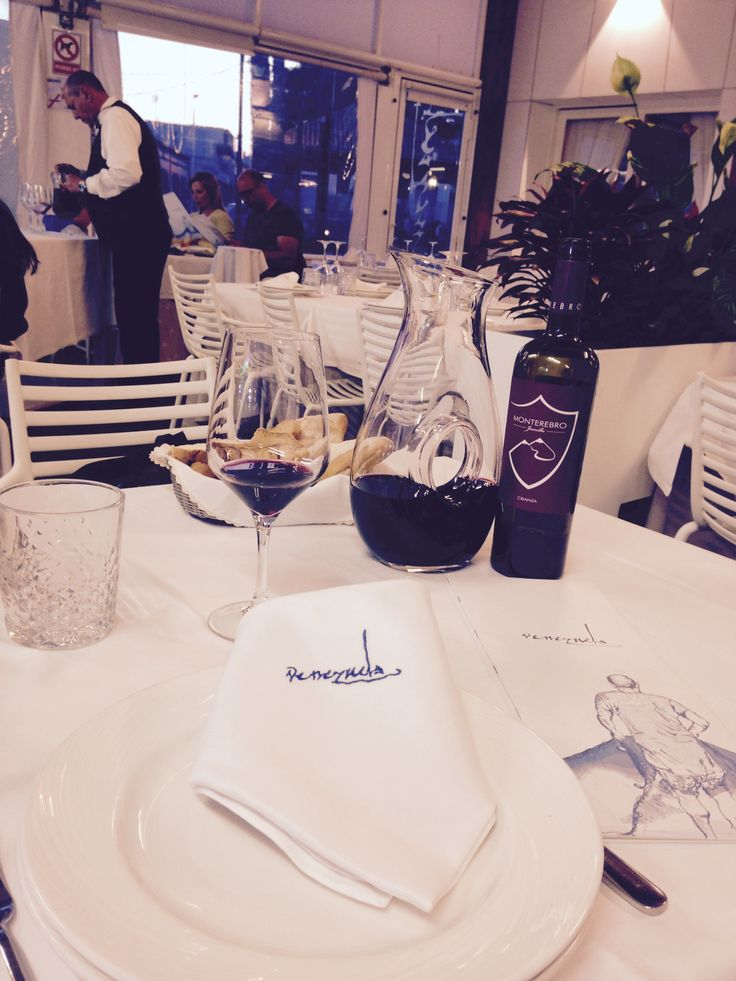Now available at Venezuela restaurant (Lo Pagán). One of the top restaurants in Murcia. Enjoy our Monterebro Crianza (of D.O.P. Jumilla) together with fine Mediterranean cuisine - just meters from the marina.