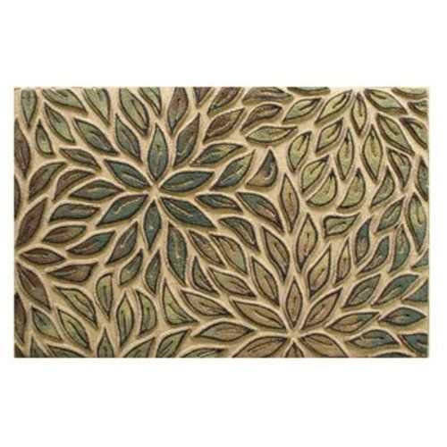 """3d Impressions Door Mat - ALL Over Leaves - 22"""" X 34"""" by 3D Impressions. $36.99. High QualityTough Door Mat. Stain proof and fade resistant!. Eco Friendly Recycled rubber. Super Easy To Clean!. Ideal for indoor/outdoor entrances. Recycled Rubber Base, Molded Carpet Surface. Absorbant carpet surface keeps moisture in the mat and off floors. Carpet is easy to clean and stain resistant. Recycled rubber base is built to last!"""