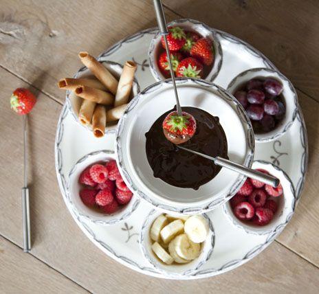 Riverdale chocolade fondue