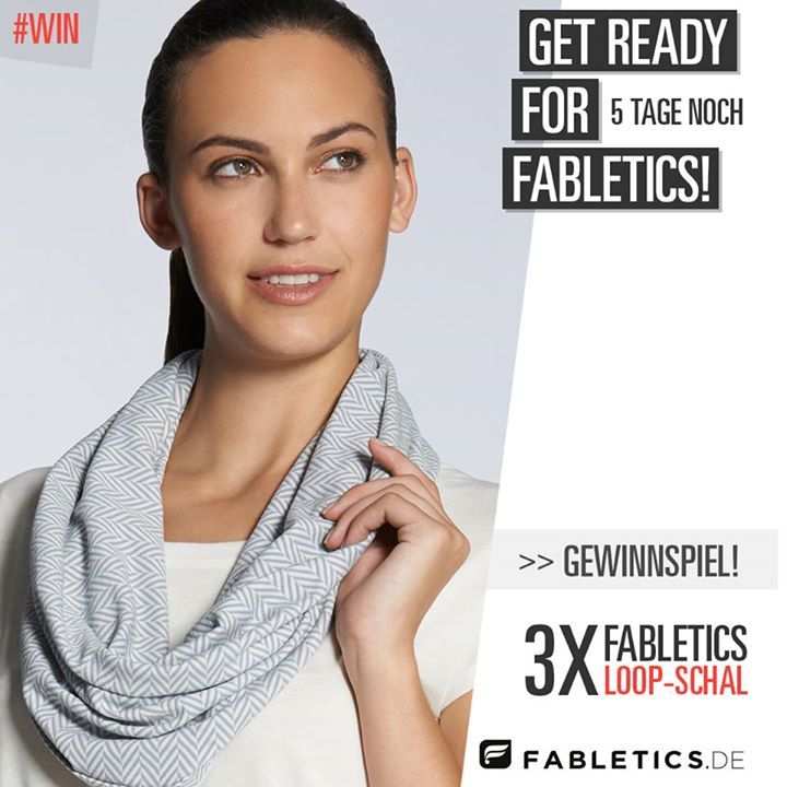 Gewinne 1 von 3 Fabletics Loop Schals auf FB, Instagram oder Twitter. Gib einfach einen Kommentar ab und sag uns, wie Du an heißen Tagen einen kühlen Kopf bewahrst und Du bist bei der Verlosung dabei. Morgen früh wird ausgelost.