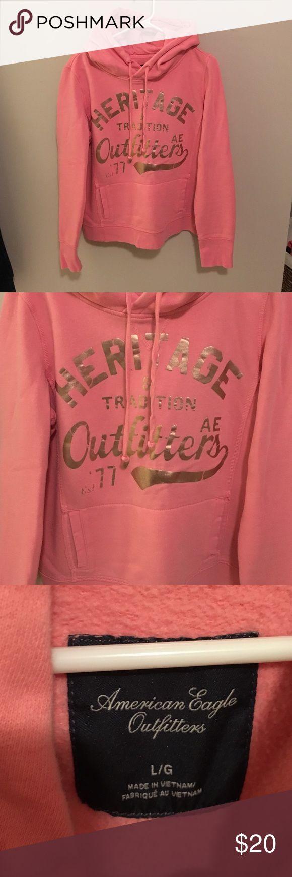 American Eagle Outfitters Hooded Sweatshirt EXCELLENT CONDITION! worn once! American Eagle Outfitters Tops Sweatshirts & Hoodies