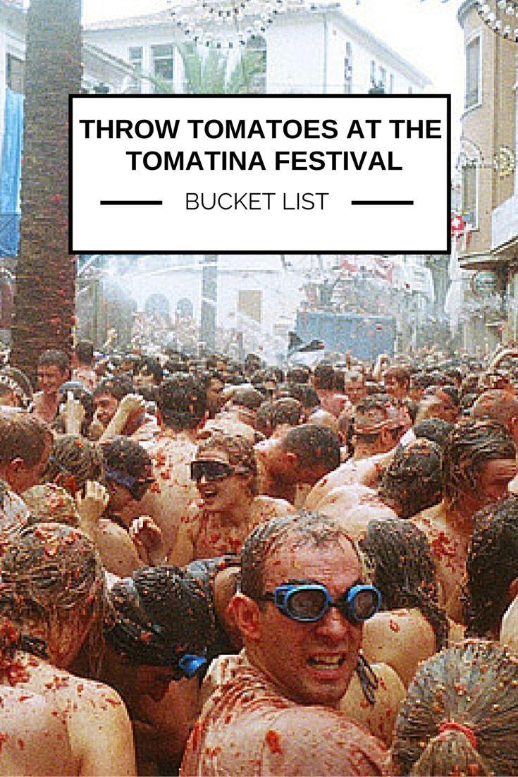 tomatina festival essay Guide to la tomatina festival in bunol spain getting to la tomatina tomato festival from barcelona and valencia.