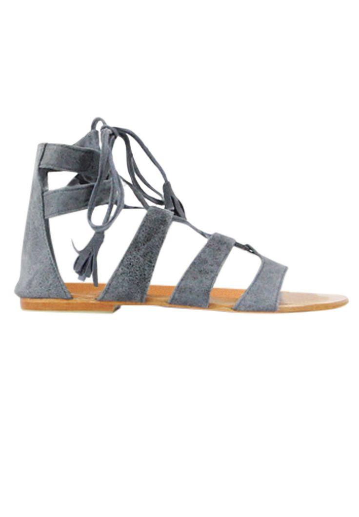 LILYA - Inez Sandal In Gunmetal