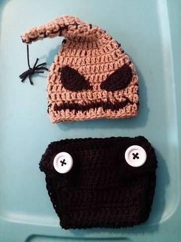 Crochet oogie boogie costume baby oogie boogie oogie boogie