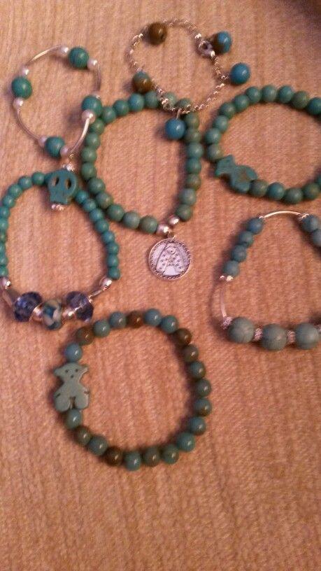 Azules verdes turquesa s